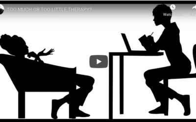 Too much or too little therapy? How do we know when we have solved things?