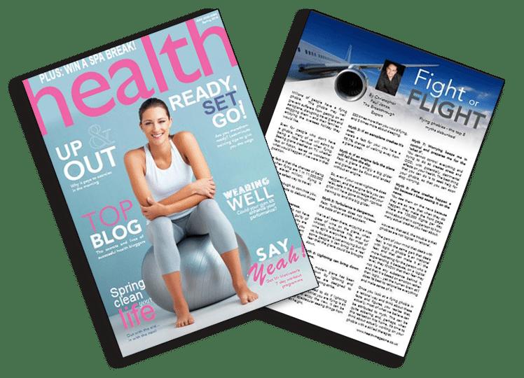 Christopher Paul Jones in Health magazine