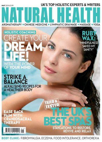 Christopher Paul Jones in Natural Health magazine